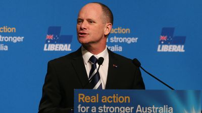 Outgoing Queensland Premier Campbell Newman. (AAP)