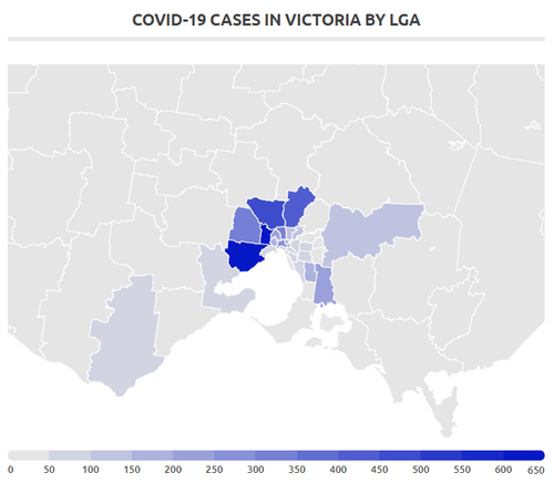 Victoria imposes new coronavirus restrictions as coronavirus infections rise by 671