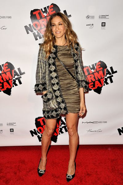 Sarah Jessica Parker at the Broadway opening night of 'The Normal Heart' in new York, 2011