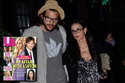 Ashton Kutcher proved himself a worthy successor to Charlie Sheen this September, sleeping with 22-year-old Sarah Leal (without protection) on the eve of his and Demi Moore's sixth wedding anniversary. Demi filed for divorce in November, and as she did, reports surfaced suggesting the pair had an open relationship and were into threesomes in a big way. They alleged that Demi's bisexual, and when they brought other women into their beds, they did it as a couple. So, it wasn't the infidelity that bothered Demi, it was doing it without her!