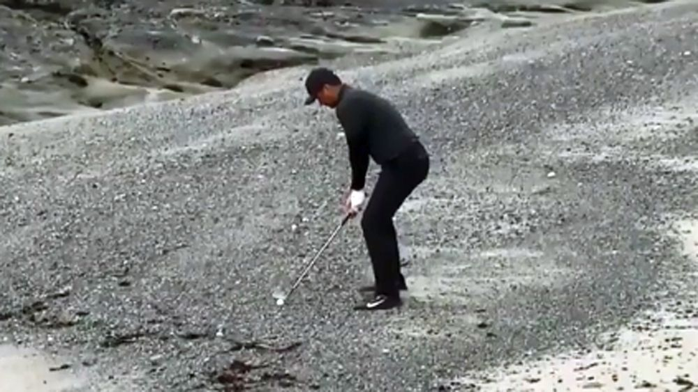 Jason Day makes incredible 18th hole par but falls short at US PGA Tour Pebble Beach Pro Am