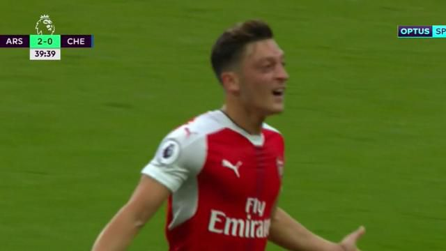 Arsenal crush Chelsea on Wenger's big day