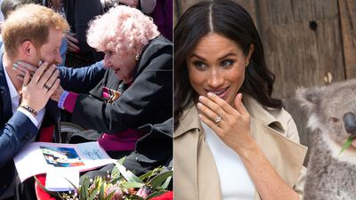 Harry, Meghan and baby win over Sydney
