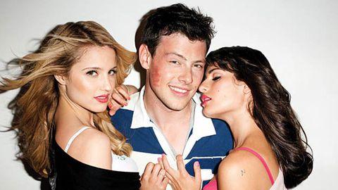 Glee stars skank it up in magazine spread