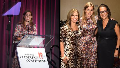 Princess Beatrice attends leadership conference, September 2019