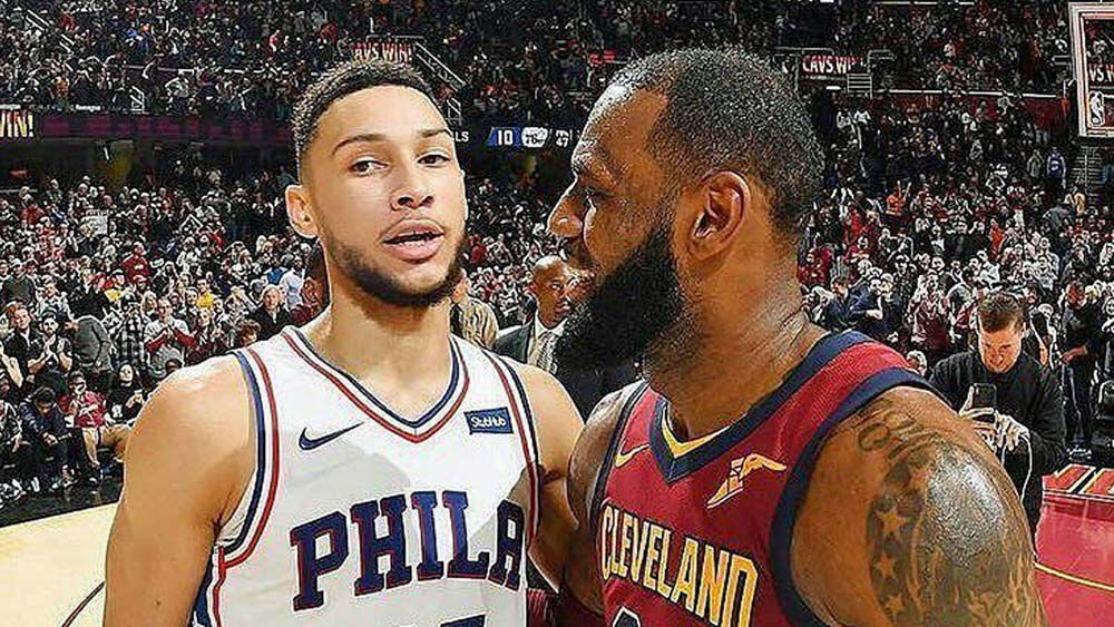 LeBron James nominates Aussie superstar Ben Simmons as his successor