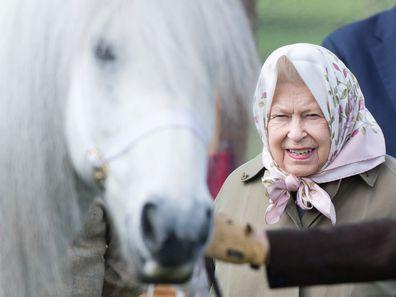 Queen Elizabeth at the 2019 Royal Windsor Horse Show