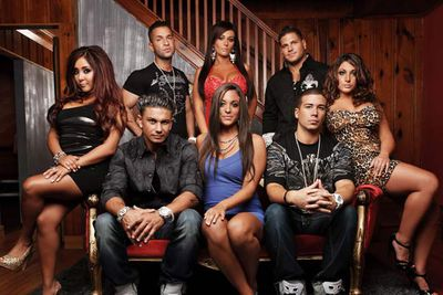 """<div align=""""left""""><B>Played by:</b> Paul """"Pauly D"""" DelVecchio, Nicole Polizzi, Michael Sorrentino, Jennifer Farley, Ronnie Ortiz-Magro, Sammi Giancola, Vinny Guadagnino, Angelina Pivarnick and Deena Nicole Cortese.</p><br/>Never before have the sexual exploits of such an unattractive group of people ever garnered so much attention. When they're not loving anonymous others, they're loving themselves. </div>"""