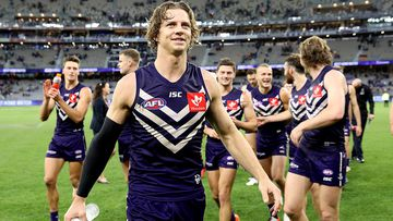 Docker Nat Fyfe in hospital with elbow infection