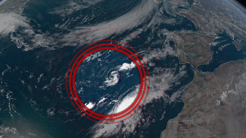 Tropical Storm Paulette is back as a cyclone after more than five days of being downgraded.