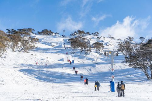 Up to 30cm of fresh snow expected to fall across alpine regions of NSW, VIC and Tasmania. Picture: Perisher