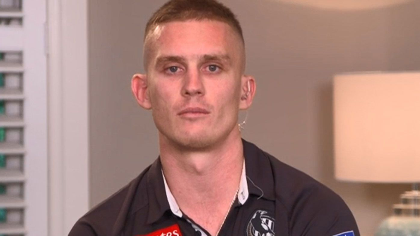 Dayne Beams says he always knew he would finish his career back at Collingwood