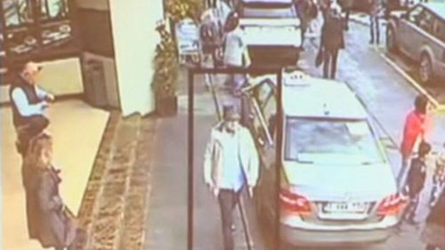New vision has been released of a suspect in the Brussels airport bombing.