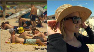 Young Australians are being reminded to practice sun safety when out this Summer.