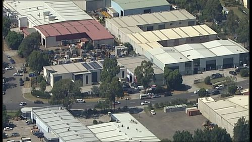 The industrial area. (9NEWS)
