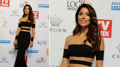 Best new comer nominee Pia Miller. (AAP)