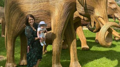 Princess Eugenie with son August new photo