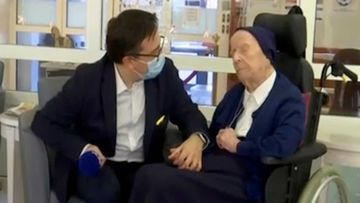Lucile Randon, 116, did not even know she had coronavirus.