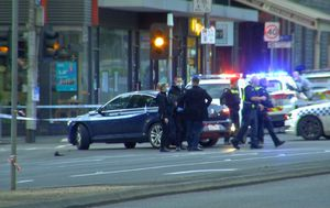 Two arrested after motorcyclist killed by stolen car