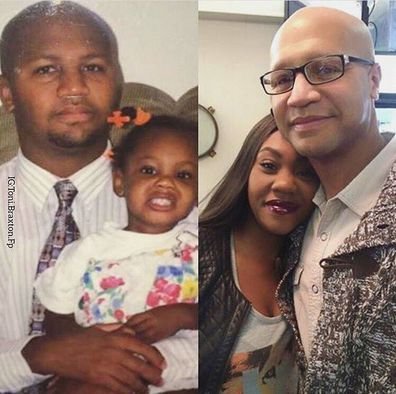 Toni Braxton, brother Michael Conrad Braxton Jr and niece Lauren 'LoLo' Braxton