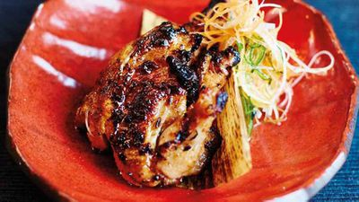 """Recipe:<a href=""""http://kitchen.nine.com.au/2017/08/31/12/49/miso-grilled-baby-chicken-with-lemon-garlic-chilli-dipper"""" target=""""_top"""">Miso-grilled baby chicken with lemon-garlic-chilli dipper</a>"""