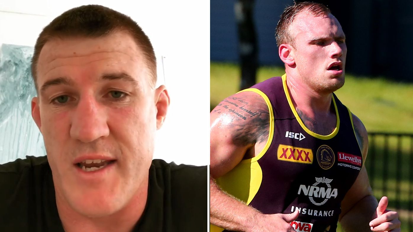 NRL: Cronulla Sharks captain Paul Gallen backs away from comments urging people to 'move on' from Matt Lodge controversy
