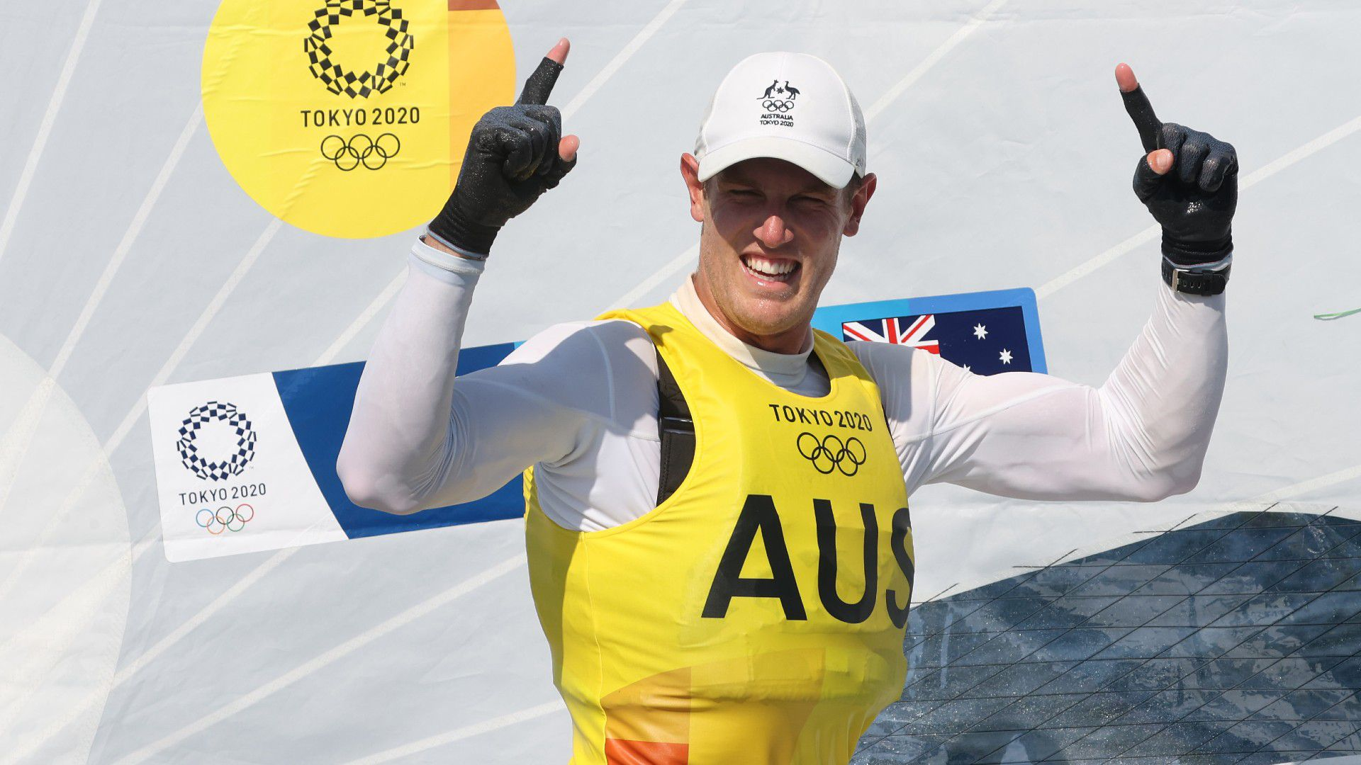 Dominant gold secured for Aussie sailor