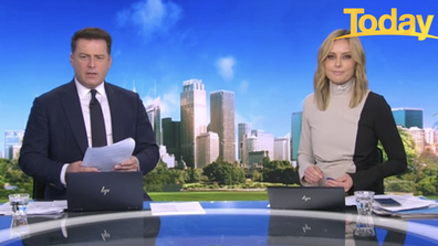 Today hosts Karl Stefanovic and Ally Langdon clashed with an anti-mask advocate on air.