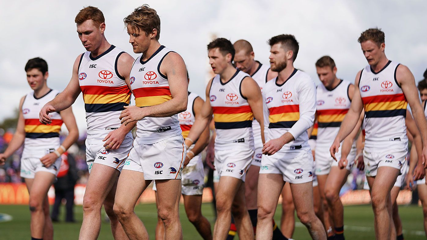 AFL legend rinses 'stupid, mediocre' Adelaide Crows after poor season