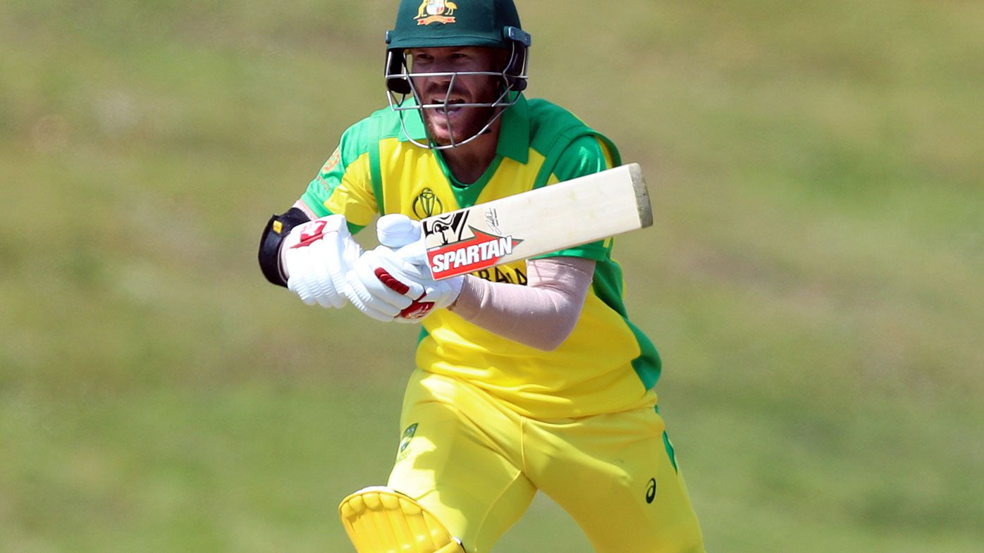 David Warner will open when the World Cup starts next week, according to Mark Taylor.