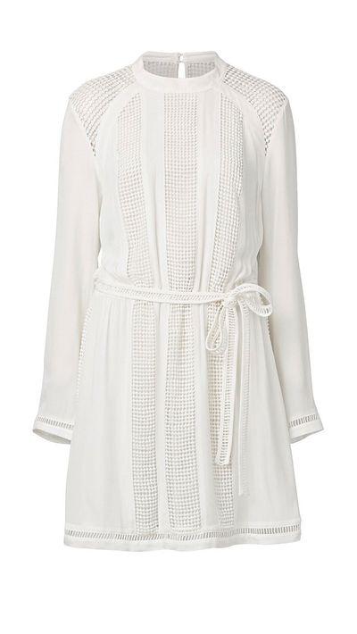 1. A lace dress