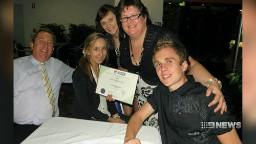 Hannah McMurtrie, centre, had a beautiful life ahead of her. (9NEWS)