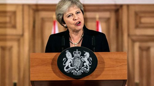 British Prime Minister Theresa May addresses Brexit 'impasse' in rare live address from Downing Street.