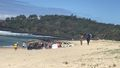 Bodyboarder's family watched on from shore as he slipped and drowned