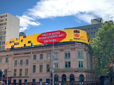 Vegemite billboard ad