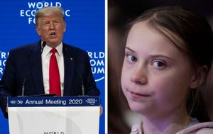 World Economic Forum Davos: Donald Trump sells USA as Greta Thunberg and activists slam leaders