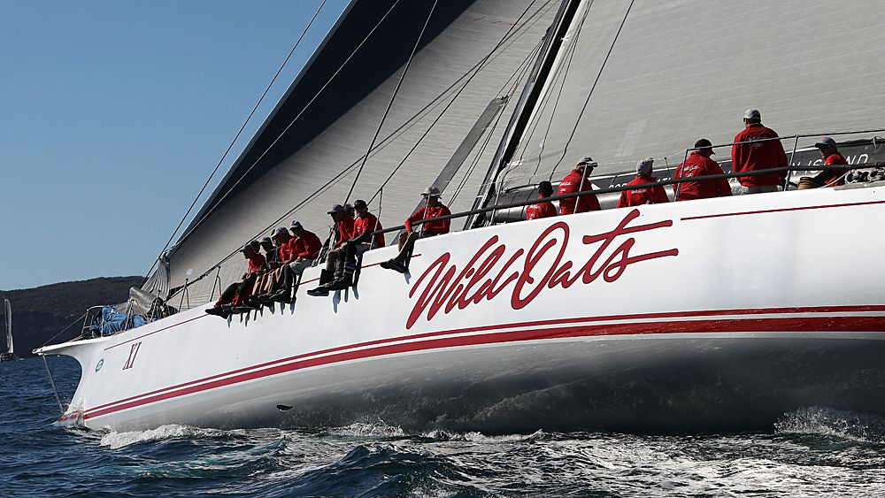 Wild Oats XI passes storm and sailing test