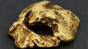 "The Reunion Nugget is believed to be the largest find in  the UK after a prospector discovered it in a Scottish river using the ""sniping"" technique."