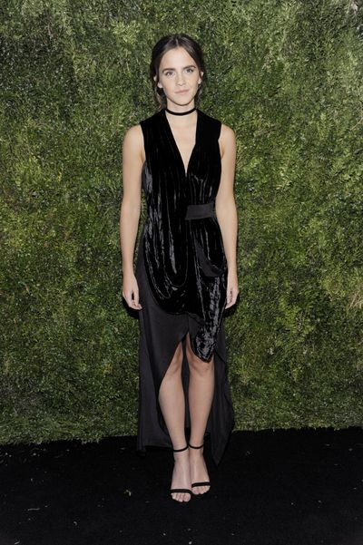 Emma Watson in Chanel at the 2016 Museum Of Modern Art Film Benefit in New York, November, 2016
