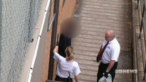 The boys appeared court today charged with conspiracy to murder. Picture: 9NEWS