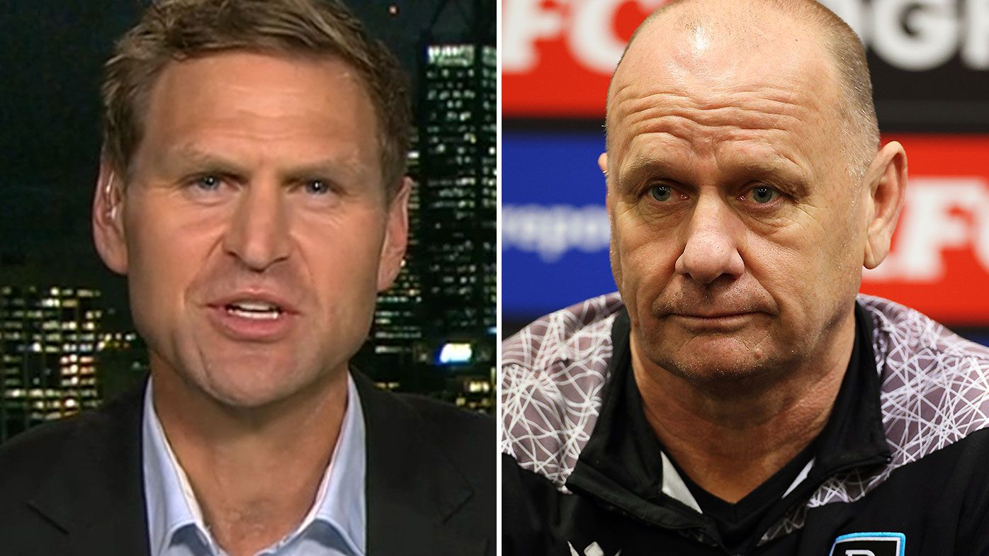'Harden up': Kane Cornes refuses to back down despite Port's displeasure at harsh analysis