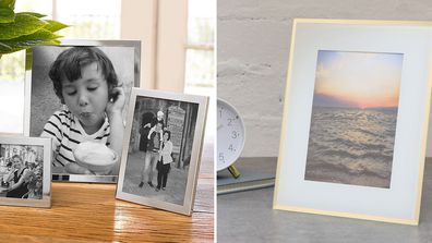 Stylish photo frames to spice up your walls on a budget