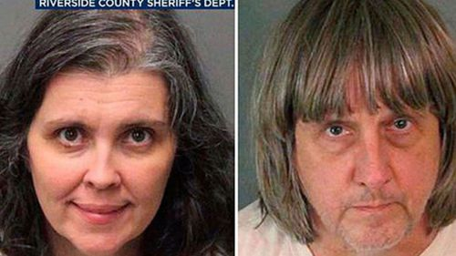 Louise and David Turpin. (Riverside County Sheriff's Department)