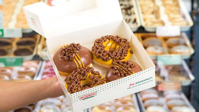 Krispy Creme launches new Crunchie-inspired range