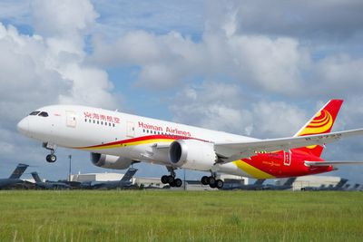 <strong>8. Hainan Airlines</strong>