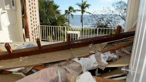 Cyclone Marcia crashes 50th birthday bash