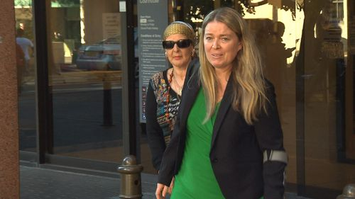 Two of Graham Kay's former victims were in court today to hear his sentencing. Picture: 9NEWS