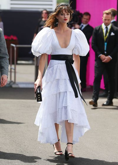 <p>No. 2 Montana Cox</p> <p>The former David Jones ambassador nails Derby Day style in Aje and Mimco. Princess perfection.</p> <p></p>