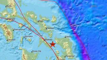 An earthquake with a magnitude of 6.6 has struck Samar, in the eastern Philippines.