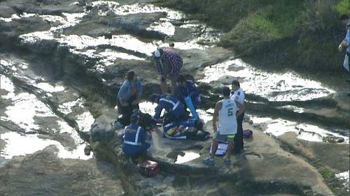 Woman injured after falling onto rocks near beach in Sydney's east